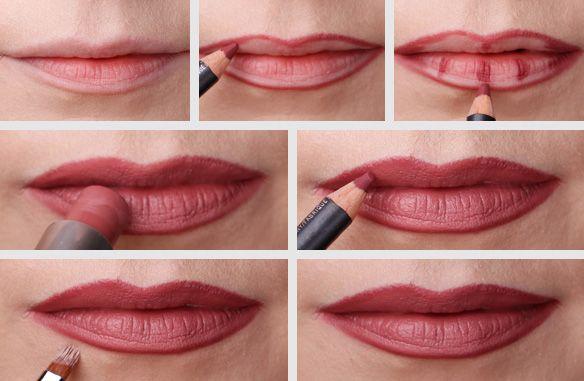Kylie Jenner lips, MAC MAC Faux, MAC Half Red, usta Kylie Jenner