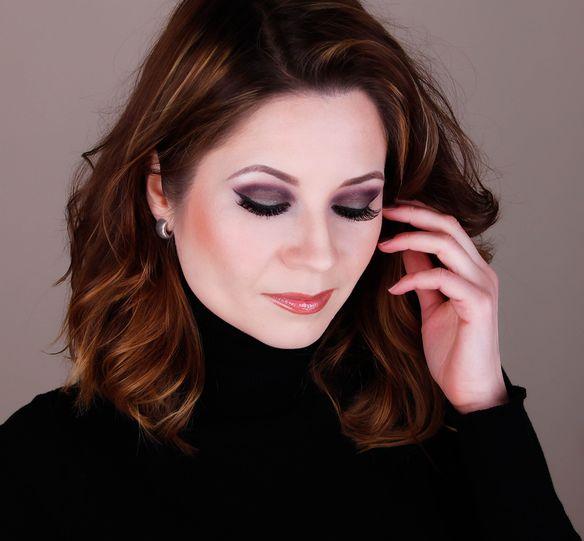 wearable purple green makeup, Mac Fig1, Mac Green Smoke
