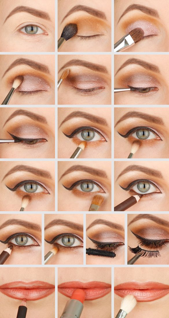 MAC Pro Longwear - Uninterrupted, Brown Down Mac, Brown smokey eye tutorial, dramatic smokey eye , sultry smokey eye,
