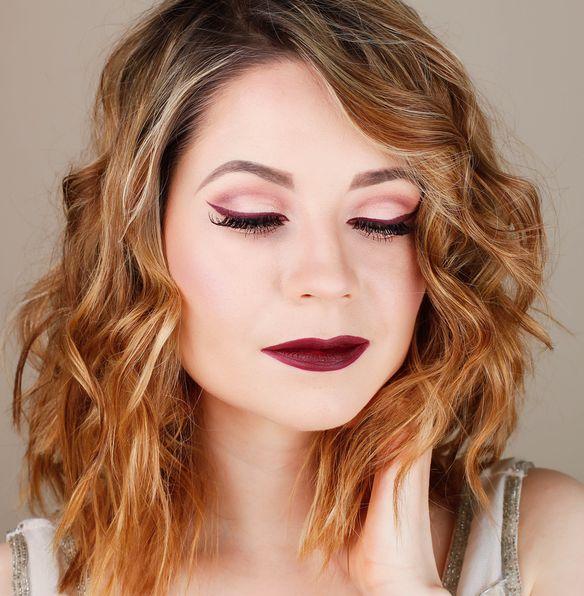 Inglot Duraline Makeup Atelier Burgundy Palette T 13 Mac Sin lipstic Mac Burgundy lip pencil Inglot Duraline Mac Passionate