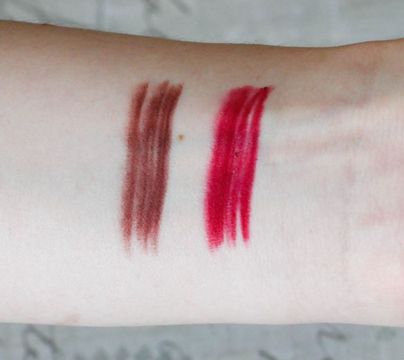 MAC Beet and Plum Lip Pencils