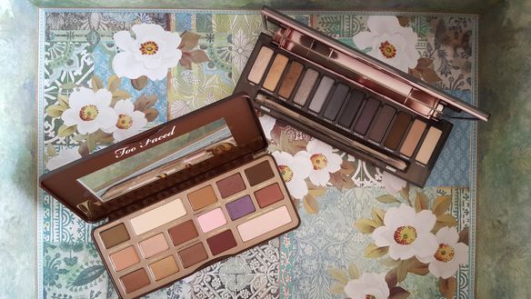 Urban Decay Naked Smokey Palette Too Faced Chocolate Bar