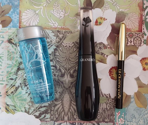 Wide-angle Fan Effect LANCOME  Grandiose Mascara  BI-FACIAL cleanser Long Lasting Eye Pencil Black