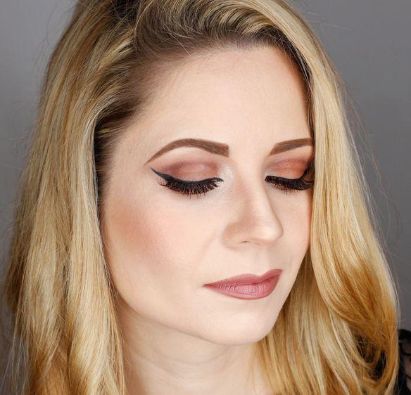 New Year's Eve Glamorous  Makeup Tutorial , sylwestrowy makijaż