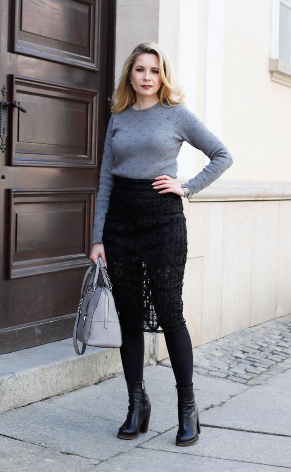 Ootd The Lace Skirt Stylotheque